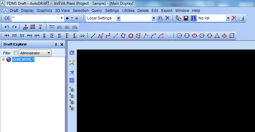 Fig 4: Draft module display screen