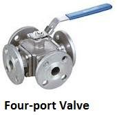 Four port valve