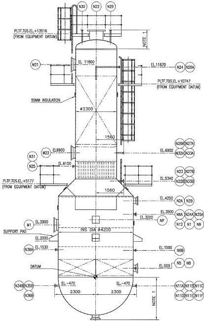 Nozzle orientation