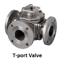 T port valve